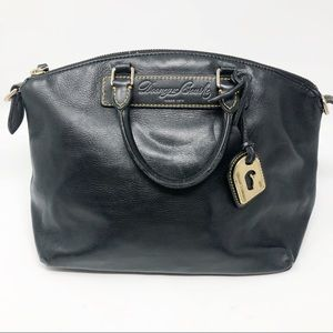 Dooney & Bourke black leather bag